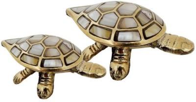 Inspiration World Turtle set / 2 Showpiece  -  3 cm