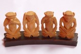 Four Monkeys Monkey Set Showpiece  -  13...
