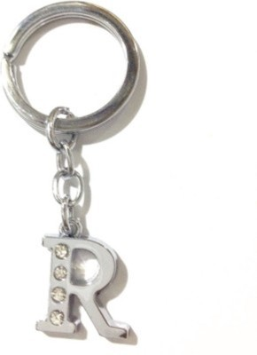 S.B.Enterprises Alphabet letter R Key chain Showpiece  -  4 cm