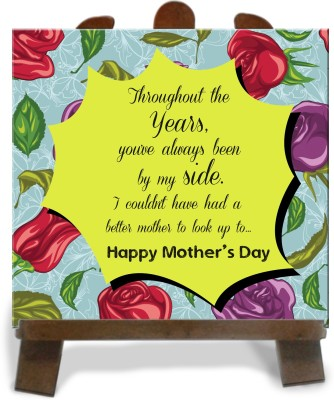 Tiedribbons Gift For Mother,S Day Tile Showpiece  -  28 cm