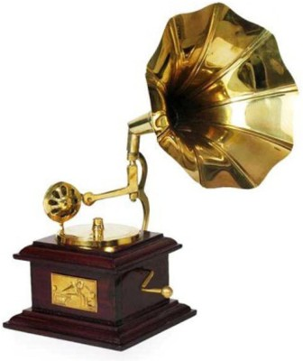 Woodstock Aesthetic Gramophone Showpiece - 23 cm