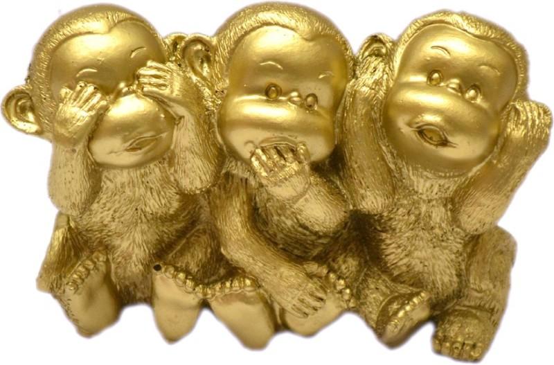 Odisha Bazaar AA-56 Showpiece  -  9 cm(Gold, Gold)