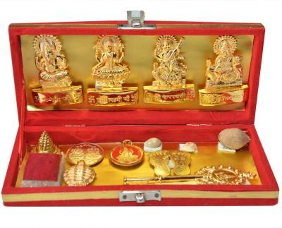 Panditnmshrimali Sampurna Sarv Samridhi Sarv Dosh Nivaran Kit Showpiece  -  5 cm