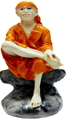 Anant Shirdi Sai Baba Idol Showpiece  -  10 cm