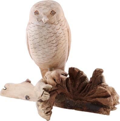 Furncoms Single Bird Sitting 637 Showpiece  -  10 cm