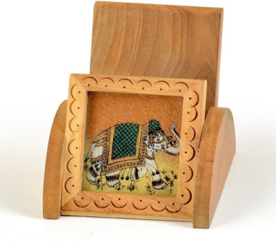 Desert Eshop Signature 1 Compartments Wooden Pen Stand
