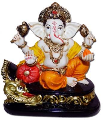 Anant Maharaja Ganpati Ganesh Idol Showpiece  -  13 cm