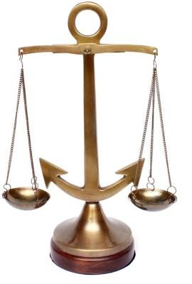 Home Sparkle Anchor Balance Scale Showpiece  -  27.5 cm
