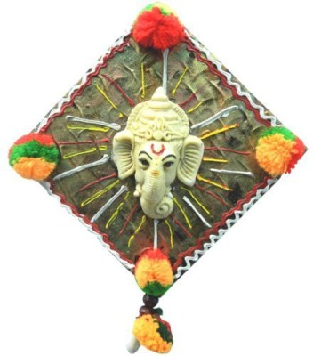 Anant Mangal Ganeshas Blessings Wall Hanging Showpiece  -  12 cm