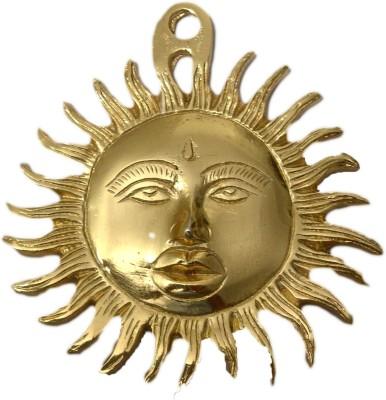 SI Diesel Si diesel brass Hanging idol Gift-Sun Showpiece  -  12 cm