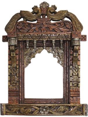 Shilpi Handicrafts Shilpi Wooden hand painted Jhrokha Showpiece  -  68 cm