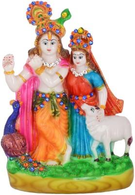 Dharmaraj Links Radha Kishan Medium Showpiece  -  28 cm