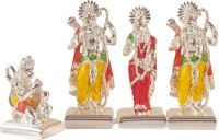 Arghyam Ram Darbar Showpiece  -  11.5 cm(Polyresin, Multicolor)