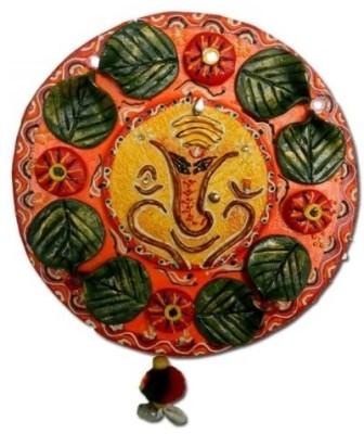 Anant Vighnaharta Ganesha Wall Hanging Showpiece  -  20 cm