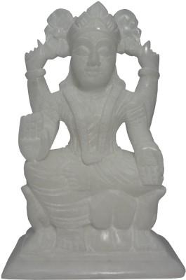 Avinash Handicrafts White Stone Laxmi 16 cm Showpiece  -  16 cm