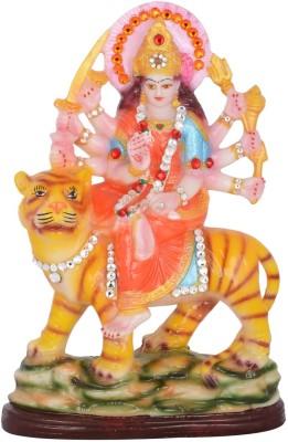 Dharmaraj Links Maa Sherawali Small Showpiece  -  24 cm