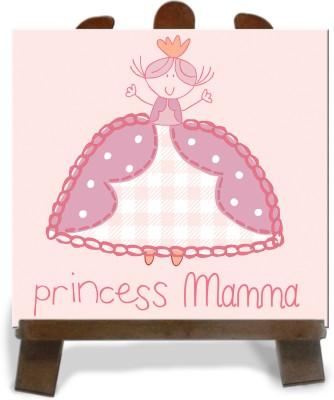 Tiedribbons Princess Mamma Gifts Tile Showpiece  -  28 cm(Ceramic, Multicolor)
