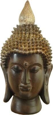 GiftsGannet Meditating Buddha Showpiece  -  20 cm