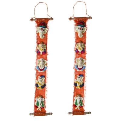 Smile2u Retailers Wall Hanging Ganesh Art Forms Showpiece  -  62 cm