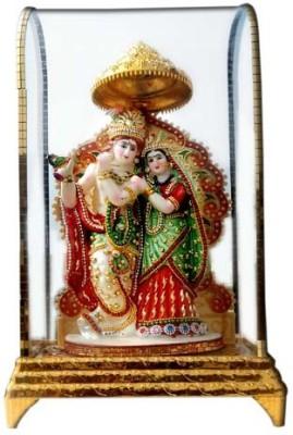 Shree Krishna Handicrafts And Gallery Radha Krishan Intouch Cabinet Showpiece  -  26 cm