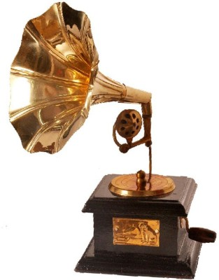 MA Design Hut Anitique Decorative Gramophone Showpiece - 20 cm