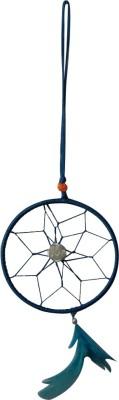 Divya Mantra Blue Aaradhi Dream Catcher Showpiece  -  12 cm
