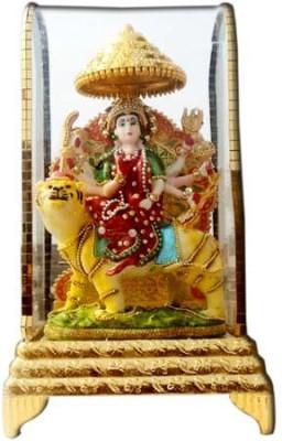Shree Krishna Handicrafts And Gallery Durga Mata Intouch Cabinet Showpiece  -  26 cm