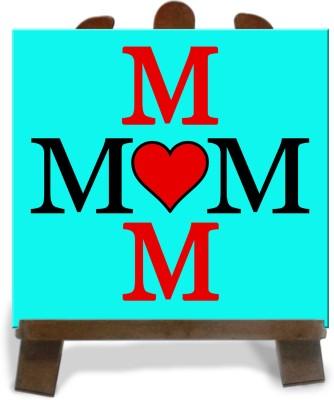 Tiedribbons Beautifull Mom Gifts Tile Showpiece  -  28 cm(Ceramic, Multicolor)