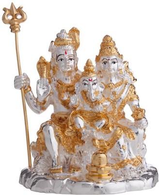 Aashirwad Shiv parivar Showpiece  -  9 cm