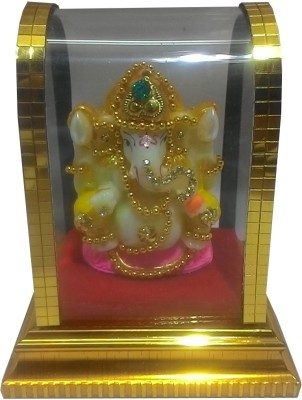 SportsHouse Ganesh God Idol Showpiece  -  10 cm