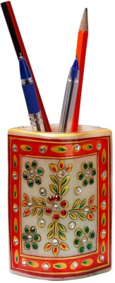 Halowishes 1 Compartments Marble Pen stand