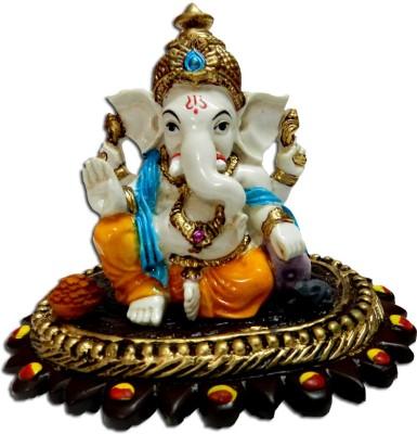 Anant Vighnaharta Ganpati Ganesha Idol Showpiece  -  8 cm
