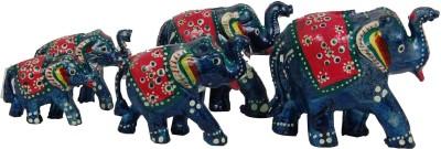 Surya Traditional Elephant Bl-5 Showpiece  -  12 cm