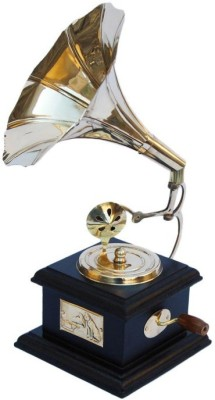 Onlineshoppee gramophone Showpiece - 22 cm