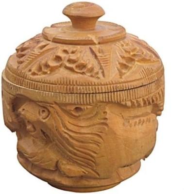 Chitra Handicraft Sindoor Dani Showpiece  -  7 cm