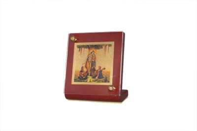 Sitare Radha Krishna Swizz Made 24 kt Gold Foil Showpiece  -  6.0 cm