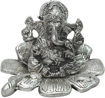 Ambika Ecommerce Traditional Fool Ganesh Showpiece 180 Showpiece  -  12.5 cm