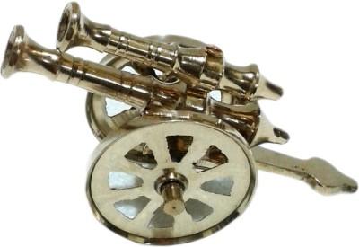 Arsalan Handcrafted Brass Canon Showpiece 4.5 inch Showpiece  -  6.5 cm