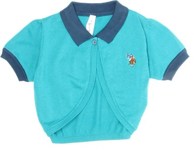 U S Polo Kids Girls Shrug