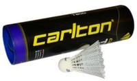 Carlton T-800 Nylon Shuttle  - White(Fast, 79, Pack of 6)