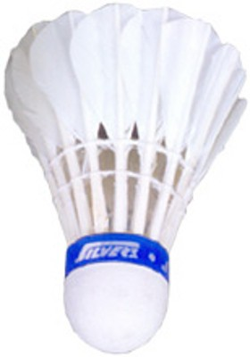 Silver's Ascot Feather Shuttle  - White