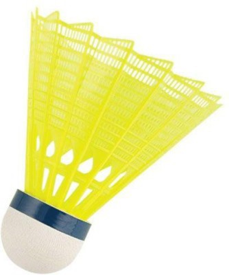 monika sports moni Plastic Shuttle  - Yellow, White