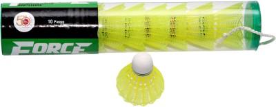 Megaplay Force Yellow Plastic Shuttle  - Yellow