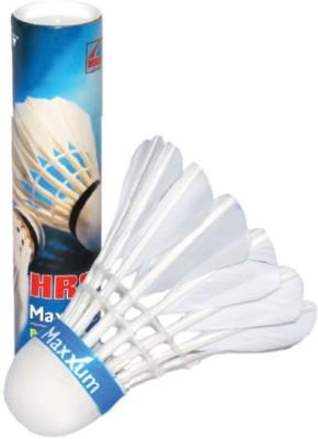 HRS Hrs Maxxum Feather Shuttle  - White