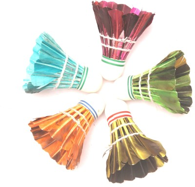 Megaplay Metal Feather Shuttle  - Multicolor