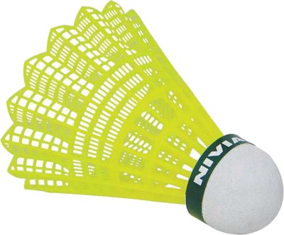 Nivia Nylon Nylon Shuttle  - Green, Yellow