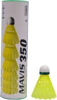 Yonex Mavis 350 Nylon Shuttle  - Green(Medium, 72, Pack of 6)
