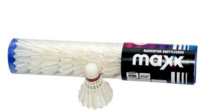 Megaplay Maxx 10 Feather Shuttle  - White