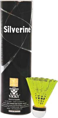 Vicky Silverine Nylon Shuttle  - Yellow