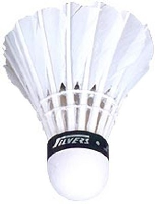 Silver's 786 Feather Shuttle  - White